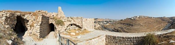 Al del castillo del cruzado - Kerak, Jordania Fotos de archivo