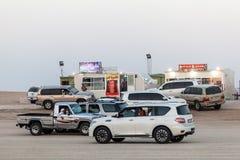 Al Dhafra在Al Gharbia的骆驼节日 免版税库存照片