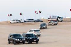 Al Dhafra骆驼节日在阿布扎比 库存图片
