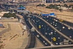 Al Dhaid Straße, Dubai, UAE Lizenzfreies Stockfoto