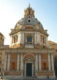 Al di Chiesa Santissimo Nome di Maria Immagini Stock Libere da Diritti