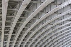 Al di sotto del ponte di Blackfriars immagini stock libere da diritti