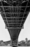 Al di sotto del ponte Sydney del porto Immagine Stock Libera da Diritti