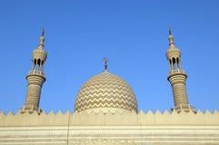 al Dubai khaimah meczetowy ras sheikh zayed Zdjęcia Royalty Free