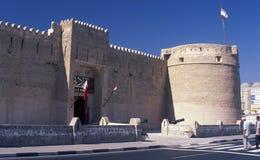 Al Fahidi Fort Dubai Dubai museum Fotografering för Bildbyråer