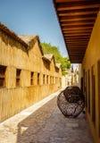 Al Fahidi Historical Neighborhood Royaltyfri Foto
