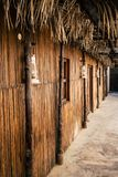 Al Fahidi Historical Neighborhood. Streets of Al Fahidi Historical Neighborhood in the Dubai`s Old Town Stock Image