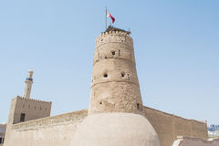 Al Fahidi stone fort in Dubai Royalty Free Stock Photo