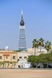 Al Faisaliah Tower i Riyadh Arkivbilder