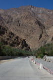Al Fara, Hajar occidentale, Oman, Fotografia Stock