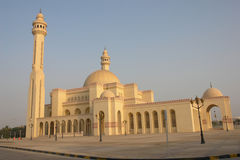 Al-Fateh Grand Mosque in Bahrain Stock Image
