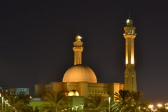 Al Fateh Grand Mosque Royalty Free Stock Image