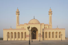 Al-Fateh Grand Mosque in Bahrain royalty free stock photography