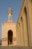 Al-Fateh Grand Mosque in Bahrain - Main entrance royalty free stock photo