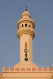 Al-Fateh Grand Mosque in Bahrain - Minaret detail stock image