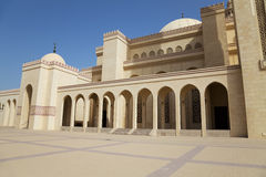 Al-Fateh Grand Mosque, Manama, Bahrain Royalty Free Stock Images