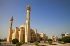 Al-Fateh Grand Mosque, Manama, Bahrain Stock Photography