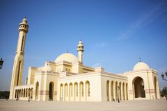 Al Fateh Grand Mosque in Manama, Bahrain Stock Photography