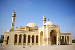 Al Fateh Grand Mosque in Manama, Bahrain Stock Photo