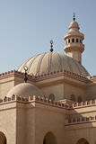 Al Fateh Mosque, Bahrain. Main view Royalty Free Stock Images
