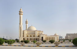 Al Fateh Mosque Bahrain Royalty Free Stock Image
