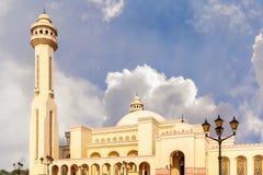 Al-Fatih Grand Mosque em Manama, a capital de Barém imagens de stock