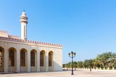 Al-Fatih Grand Mosque em Manama, a capital de Bar?m foto de stock