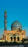 Al Fidos Mosque em Bagdade, Iraque fotografia de stock