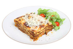 Al Forno de lasagne Photos stock