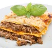 al forno lasagne Obrazy Stock