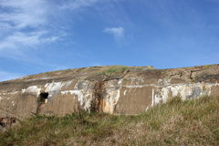 A bunker of the coastal fortifications on Fano Den Royalty Free Stock Photos