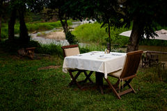 Al Fresco Dining Stock Photo