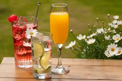 Al Fresco Drinks Stock Photo
