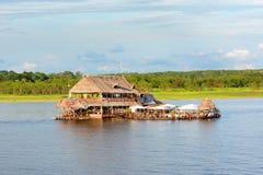 Al Frio y Al Fuego Restaurant Iquitos Stock Image