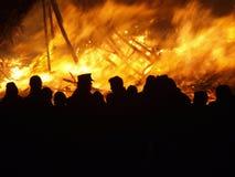 Al fuoco Immagini Stock Libere da Diritti