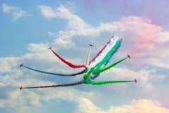 Al Fursan bij airshow van MAKS 2017 Stock Foto