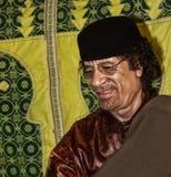 Al Gaddafi de Muammar Fotografía de archivo libre de regalías