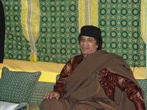 Al Gaddafi de Muammar Imágenes de archivo libres de regalías