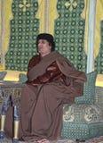 Al Gaddafi di Muammar Fotografie Stock
