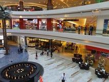 Al Ghurair市商城在迪拜 库存图片