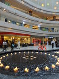 Al Ghurair City Shopping Mall in Doubai Stock Foto's
