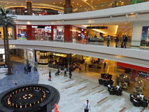Al Ghurair City Shopping Mall à Dubaï Image stock
