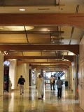 Al Ghurair City Shopping Mall in Dubai Stockfotografie