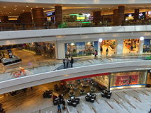 Al Ghurair City Shopping Mall in Dubai stock photography