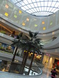 Al Ghurair City Shopping Mall in Dubai. UAE. It is one of Dubais oldest shopping centres and was recently renovated and expanded Royalty Free Stock Photography