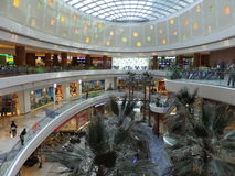 Al Ghurair City Shopping Mall in Dubai. UAE. It is one of Dubais oldest shopping centres and was recently renovated and expanded Stock Photo