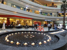 Al Ghurair City Shopping Mall in Dubai. UAE. It is one of Dubais oldest shopping centres and was recently renovated and expanded Royalty Free Stock Image