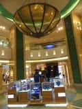 Al Ghurair City Shopping Mall en Dubai Foto de archivo libre de regalías