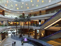 Al Ghurair City Shopping Mall en Dubai Foto de archivo