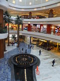 Al Ghurair City Shopping Mall en Dubai Imagenes de archivo